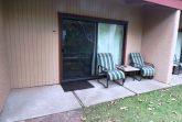 Unit patio entrance